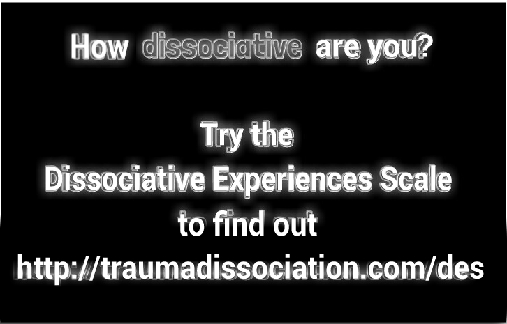 How dissociative are you? Try the D E S to find out